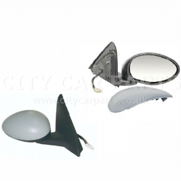Alfa Romeo 147 2001-2010 Door Wing Mirror Electric Heated Primed Driver Side New